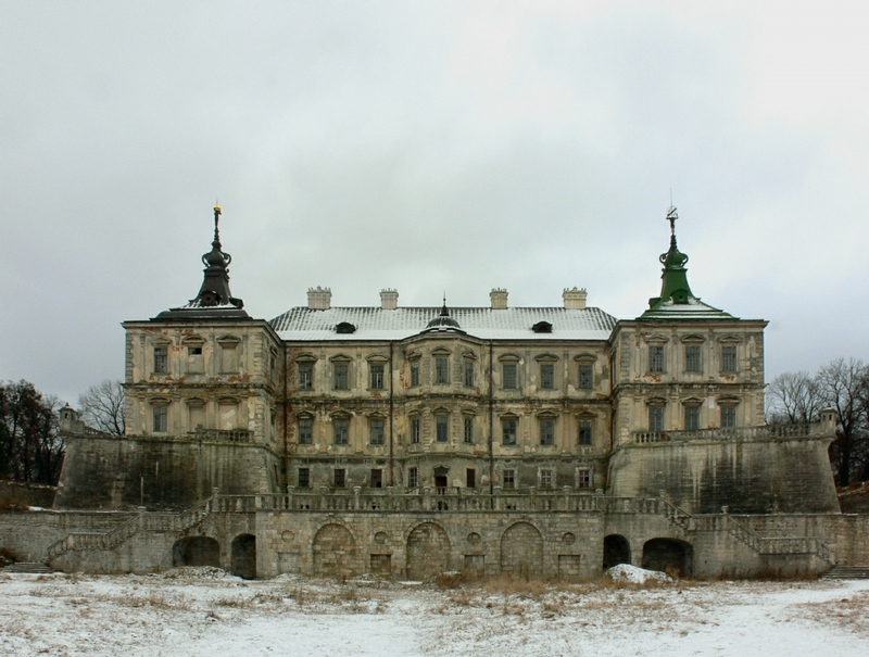 Awesome Abandoned Castle In Ukraine