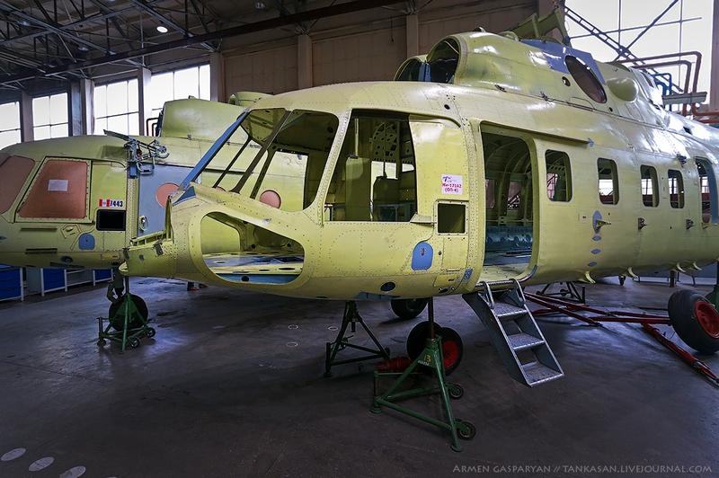 Big Russian Aviation Factory