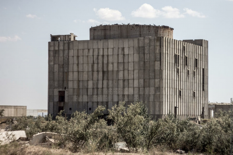 Unfinished Nuclear Power Plant In Ukraine