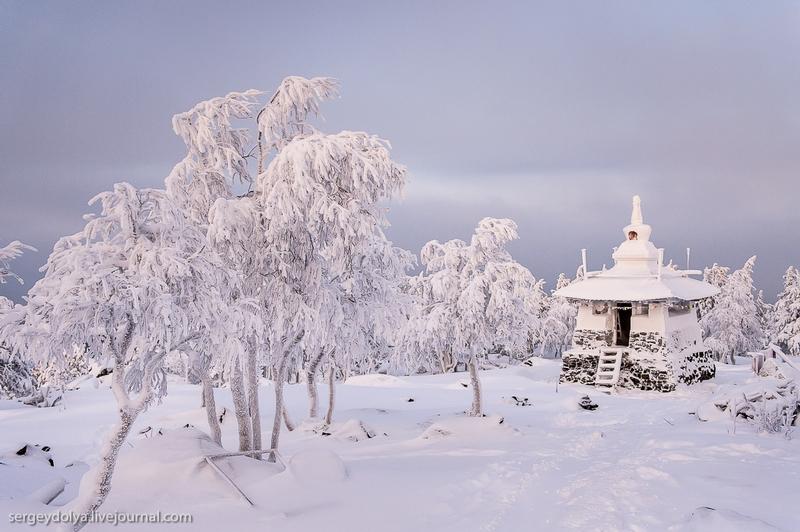 Buddhist Winter Serenity