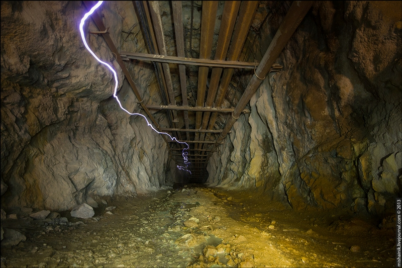 The Gray Half Abandoned Mine