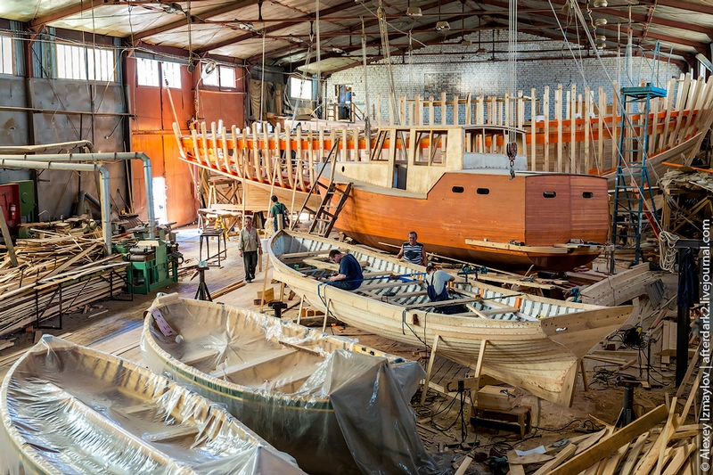Wooden Shipbuilding Is Still Alive