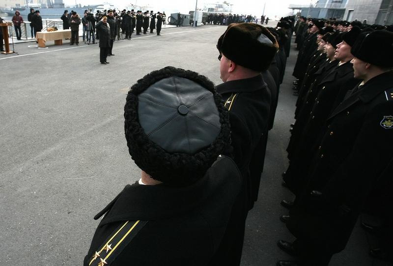 Admiral Vinogradov Comes Back Home