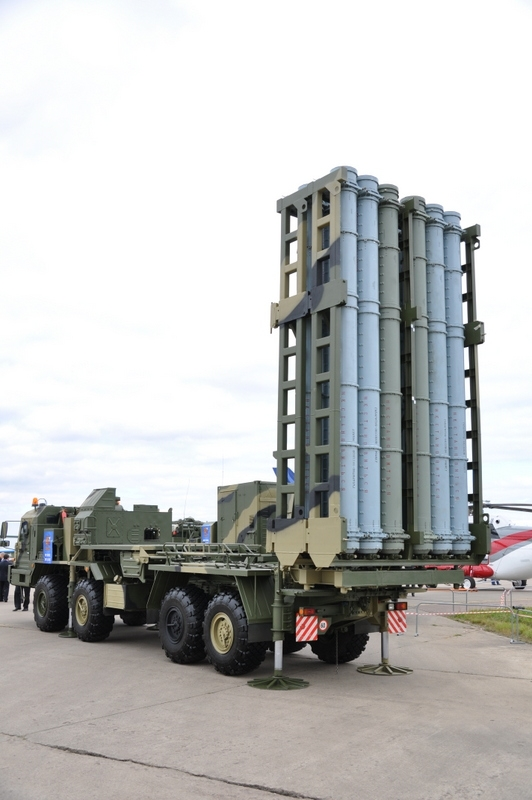 New Russian Anti Aircraft Missile System