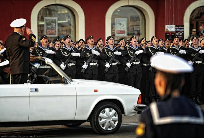 Victory Parade Dress Rehearsals