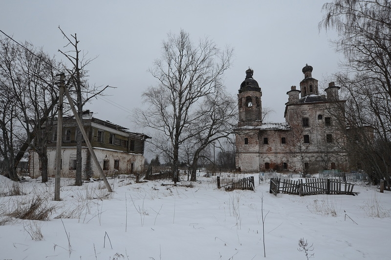 Churches of Unknown Past