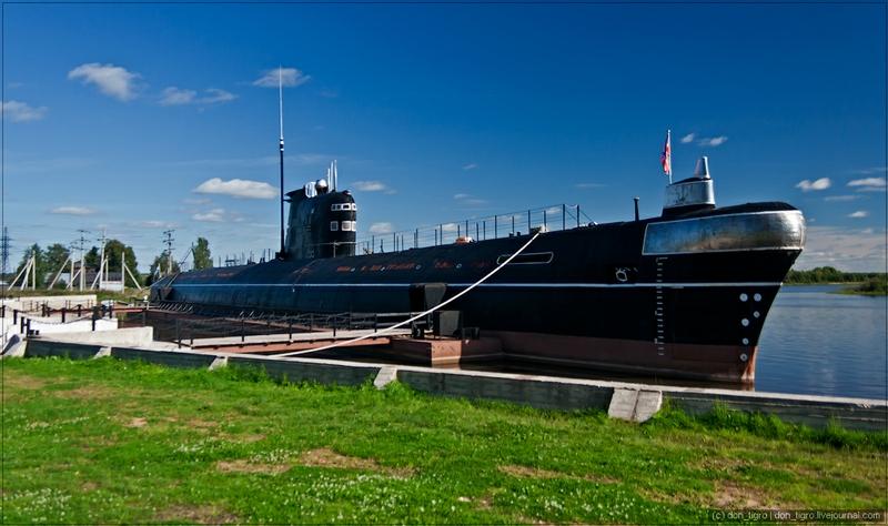 вытегра. подводная лодка б-440