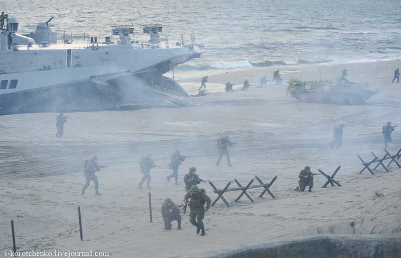 Special Combat Operation Of Marines