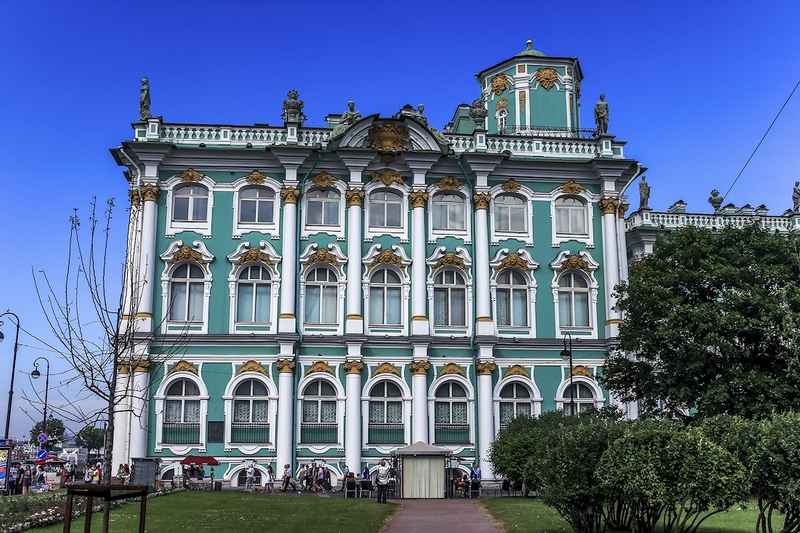 Winter Palace: the Main Russian Imperial Residence