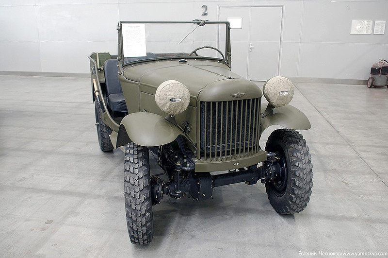 Motors of War Exhibited in Moscow