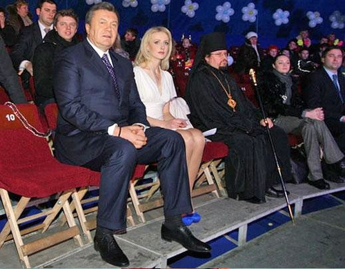 Women of Ukrainian Ex President
