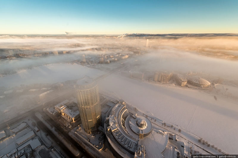The City In the Frosty Mist