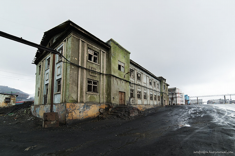 Just Three Abandoned Houses