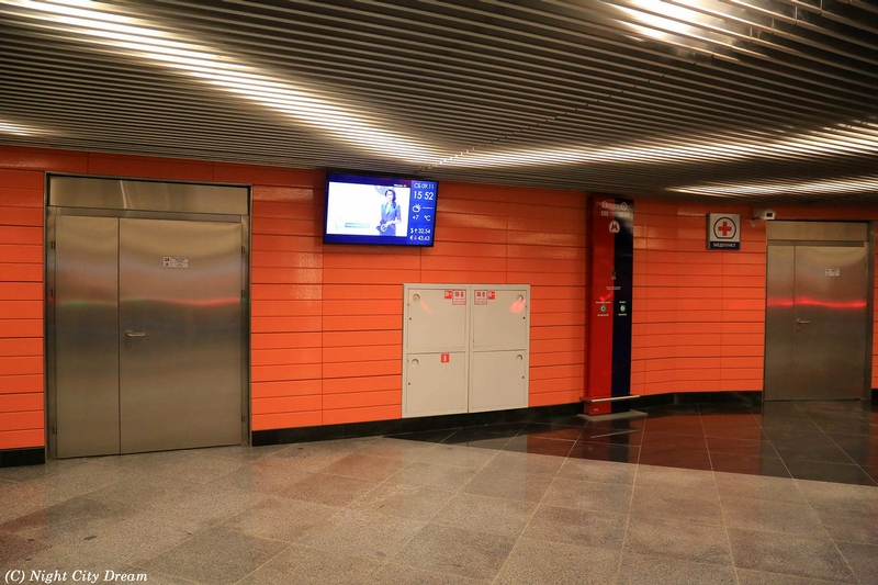 New Subway Stations of Moscow