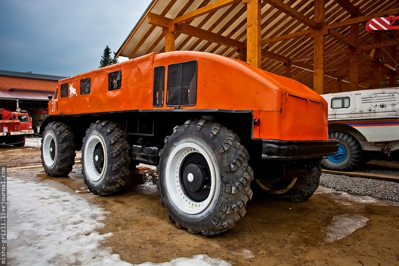 Unique Soviet Snow Mobile Zil E167