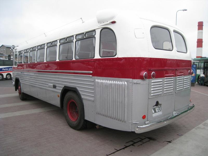 Beautiful Soviet Bus: ZiS 127