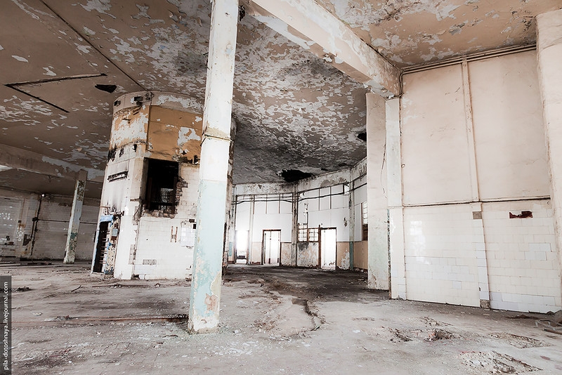 Once It Was a Bread Baking Plant