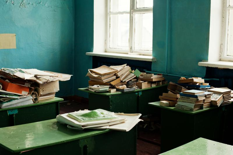 Abandoned School 10