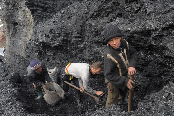 At the Asian Open Pit