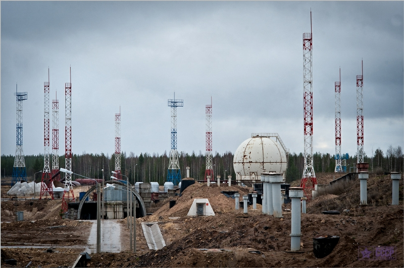 Rocket Base Angara Construction