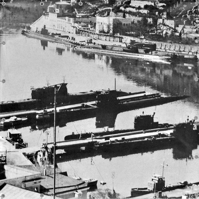 балаклавская база подводных лодок видео