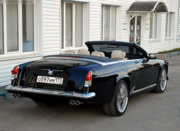 BMW Pimped Into A Soviet Cabriolet!