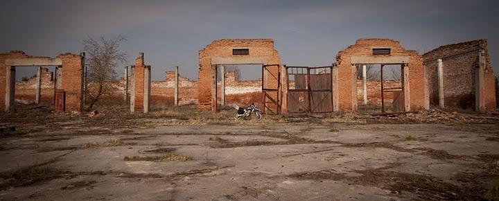 Visitando Chernobyl en Moto