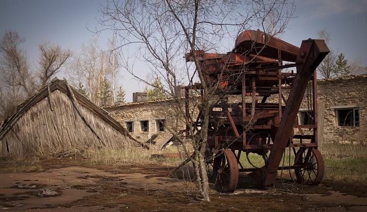 To Chernobyl By Bike