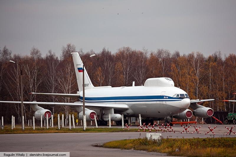 Chkalovsky Military Airport Base