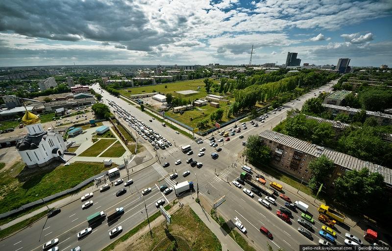 Let's Fly Over Novosibirsk