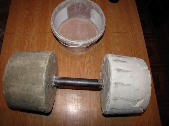 Home-Made Dumbbell