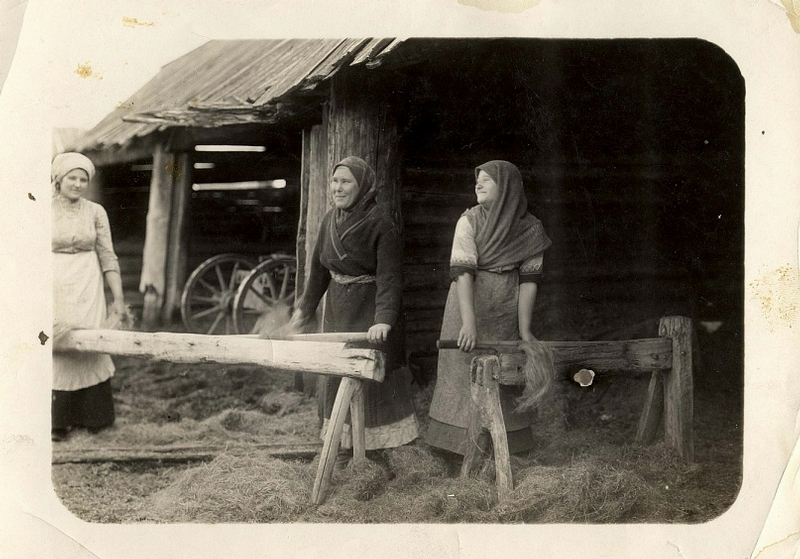 Peasant Everyday Life, Retro Photos