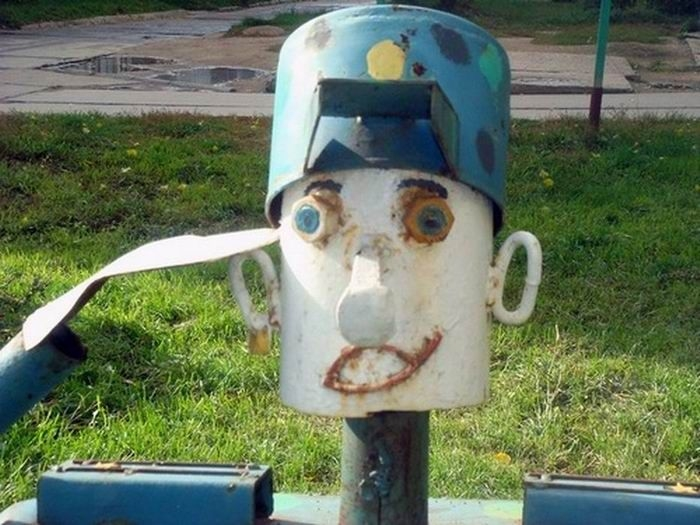 Dubious Sculptures For Kids To Play With