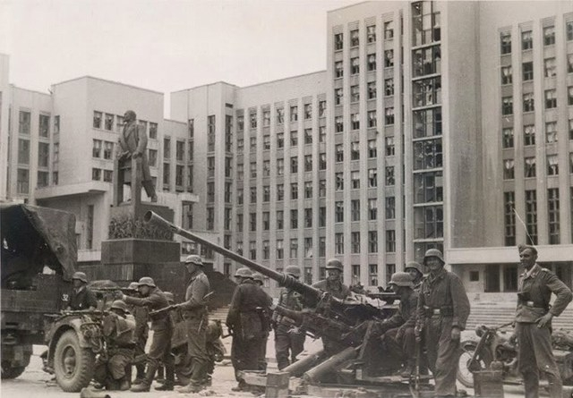 Minsk Occupation In Photos, Part I