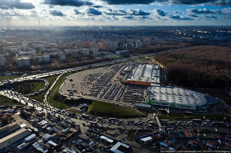 A Helicopter Tour Around Moscow