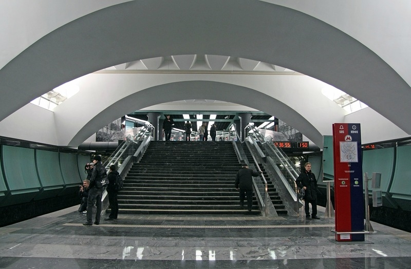 The station itself
