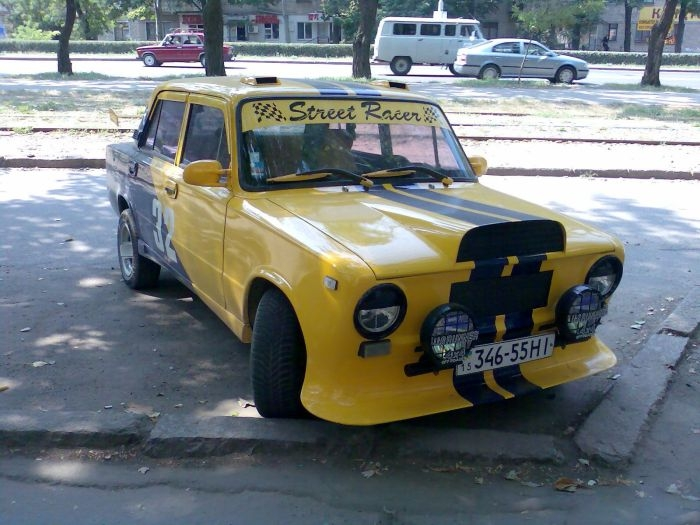 Look, I Pimped My VAZ!