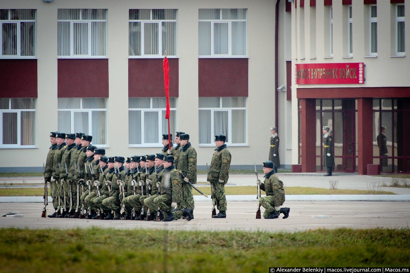 Military Press Tour In Belarus