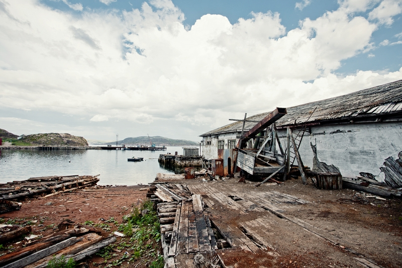 A Fishing Cemetery In Once Prosperous Fishing Village