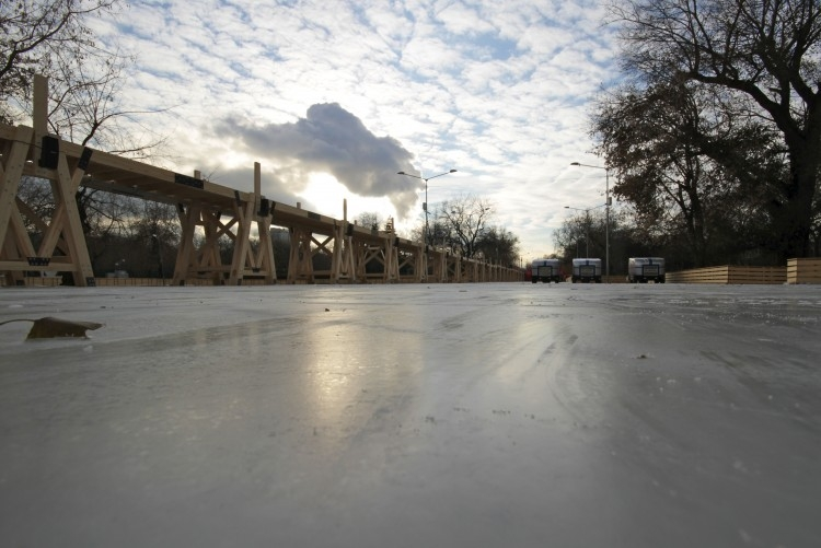 A New Skating Rink In Moscow