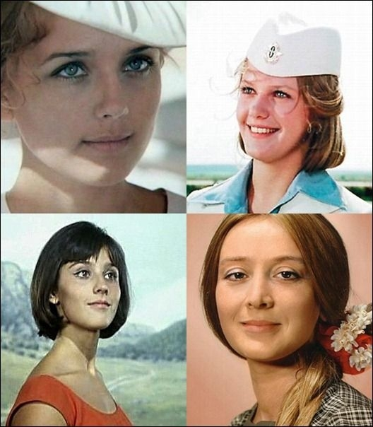 Soviet Actresses Now And Then