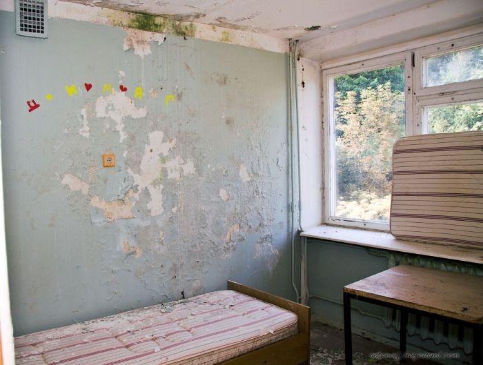 Zhuravlyonok, An Abandoned Summer Camp