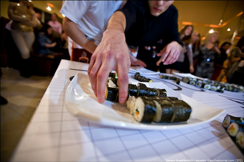 The Largest Sushi Picture In Ukraine