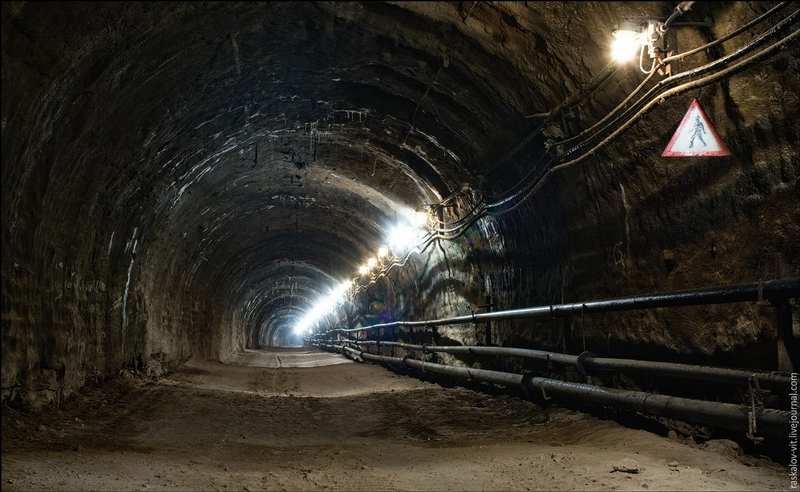 Construction of the Road Tunnel In Ufa [15 photos]