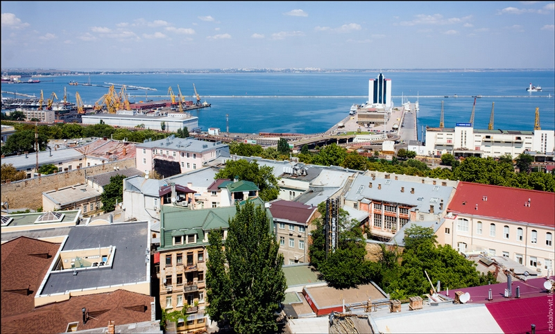A Trip Over Two Ukrainian Cities