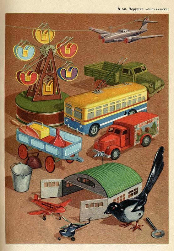 What They Were Supposed To Sell In The USSR