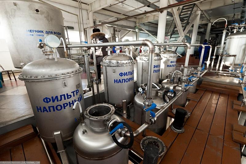Kazakh Vodka Making