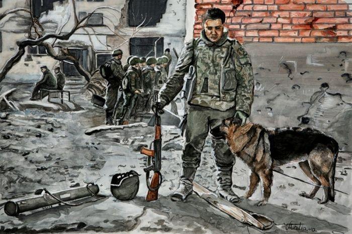 War Inspired Art