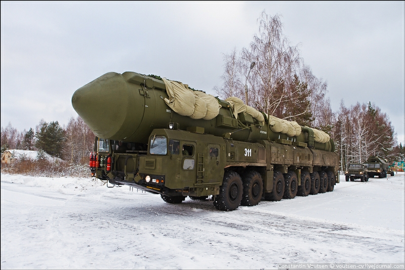 Introducing Ground-Mobile Missile Complex Yars