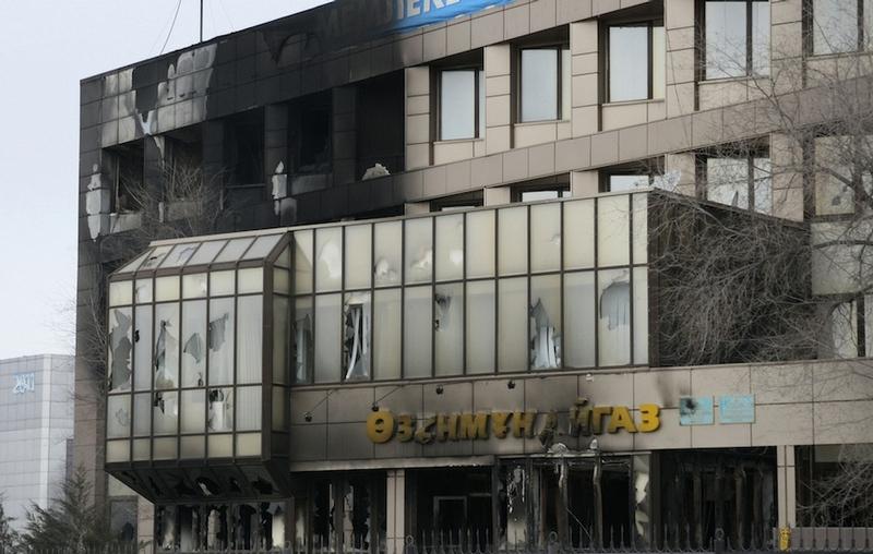 Zhanaozen Disturbance Aftermath